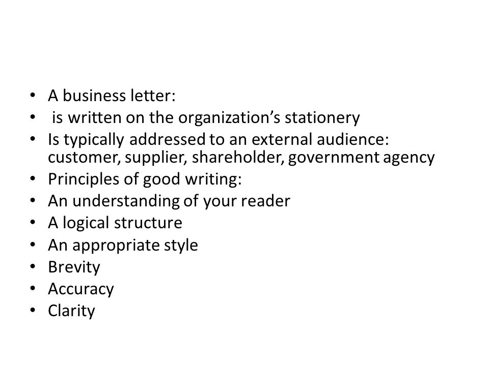 How To Write A Letter Ppt Video Online Download