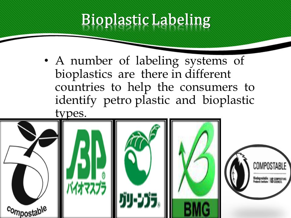 BIOPLASTIC (An alternative to conventional plastic) - ppt