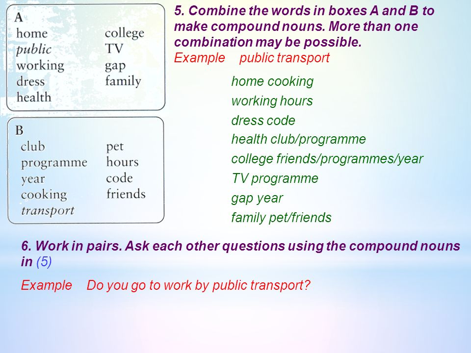 4 complete the word family table employment employable negotiate combine the words in boxes a and b to make compound nouns publicscrutiny Choice Image