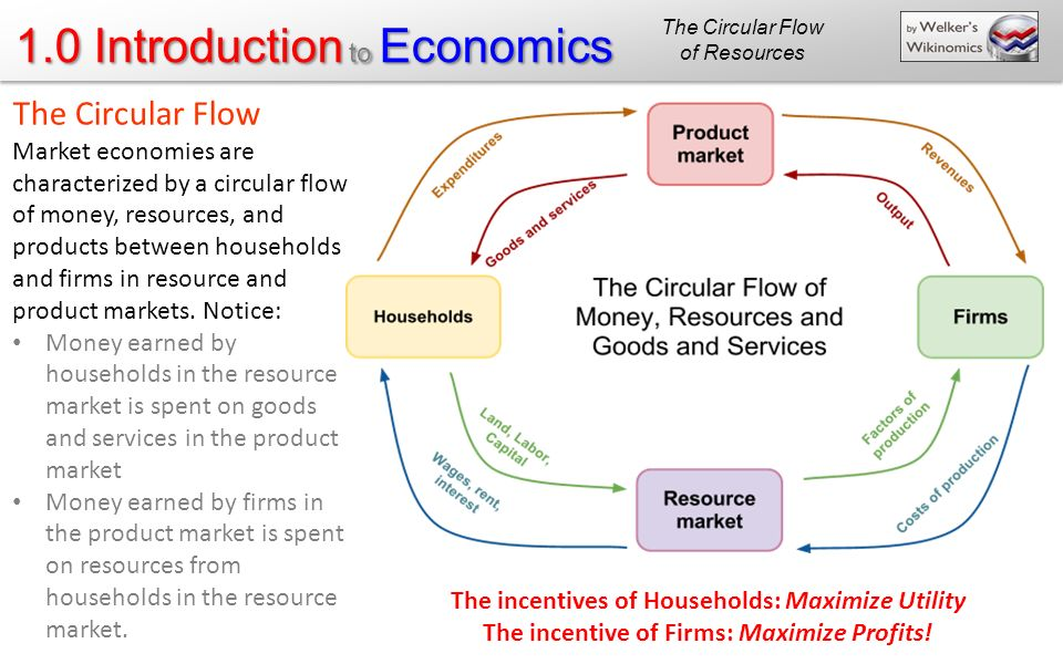 The Circular Flow of Resources. The Circular Flow.