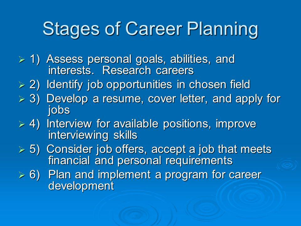 Finances and Career Planning - ppt video online download