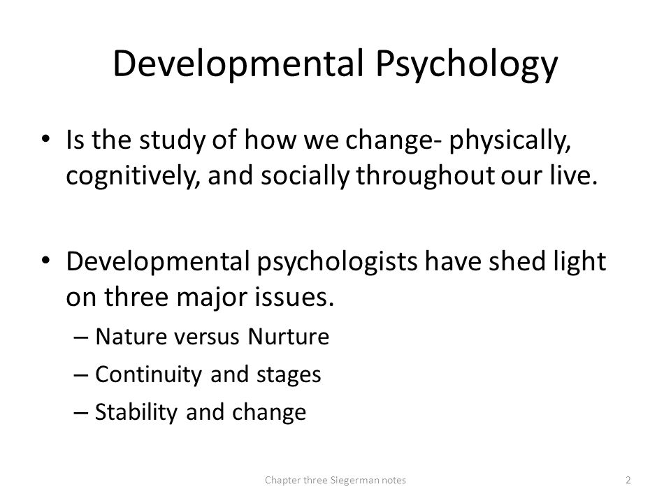 Developing Through the Life Span Chapter 3 - ppt download