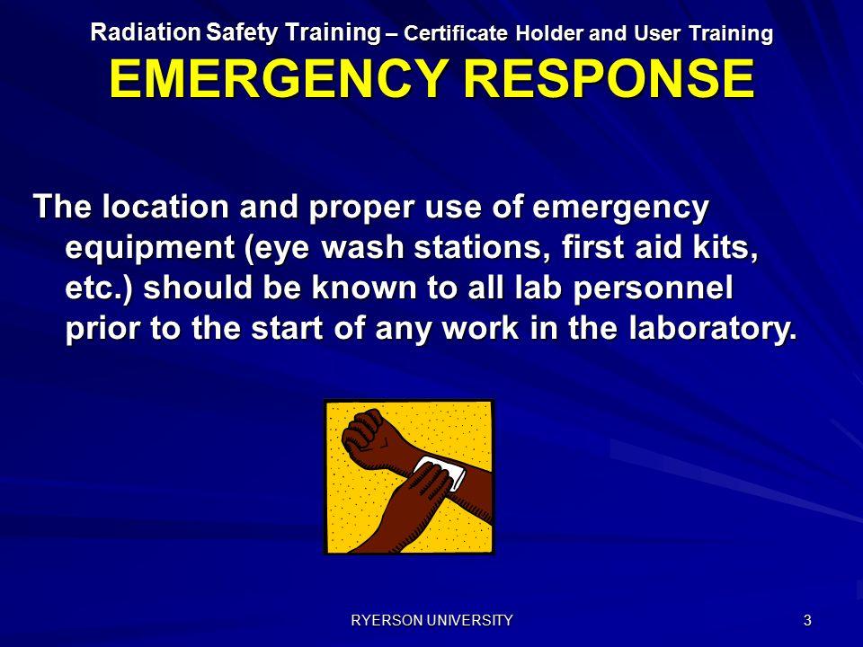 7  EMERGENCY RESPONSE RYERSON UNIVERSITY  - ppt video online