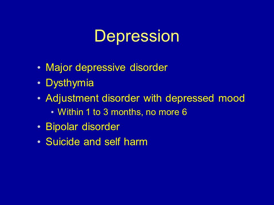 major depression disorder Major depressive disorder (mdd), also known simply as depression, is a mental disorder characterized by at least two weeks of low mood that is present across most situations[1] it is often.
