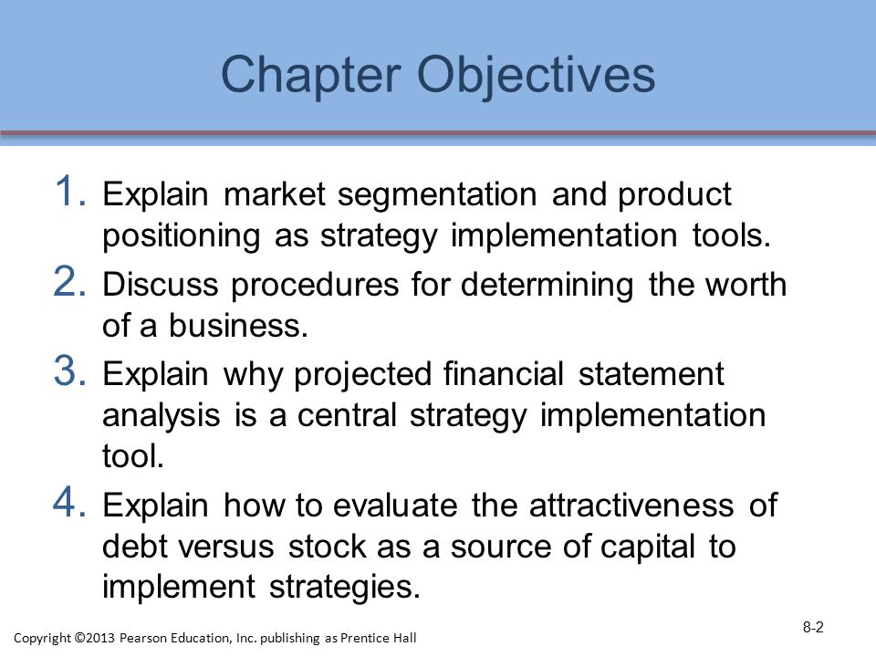 Implementing Strategies: Marketing, Finance/Accounting, R&D