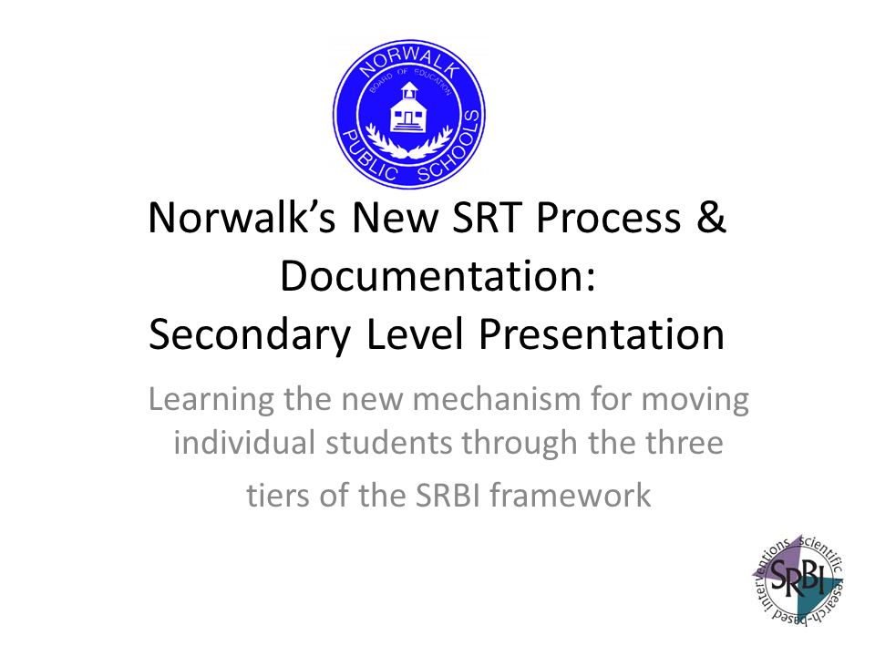 tiers of the SRBI framework