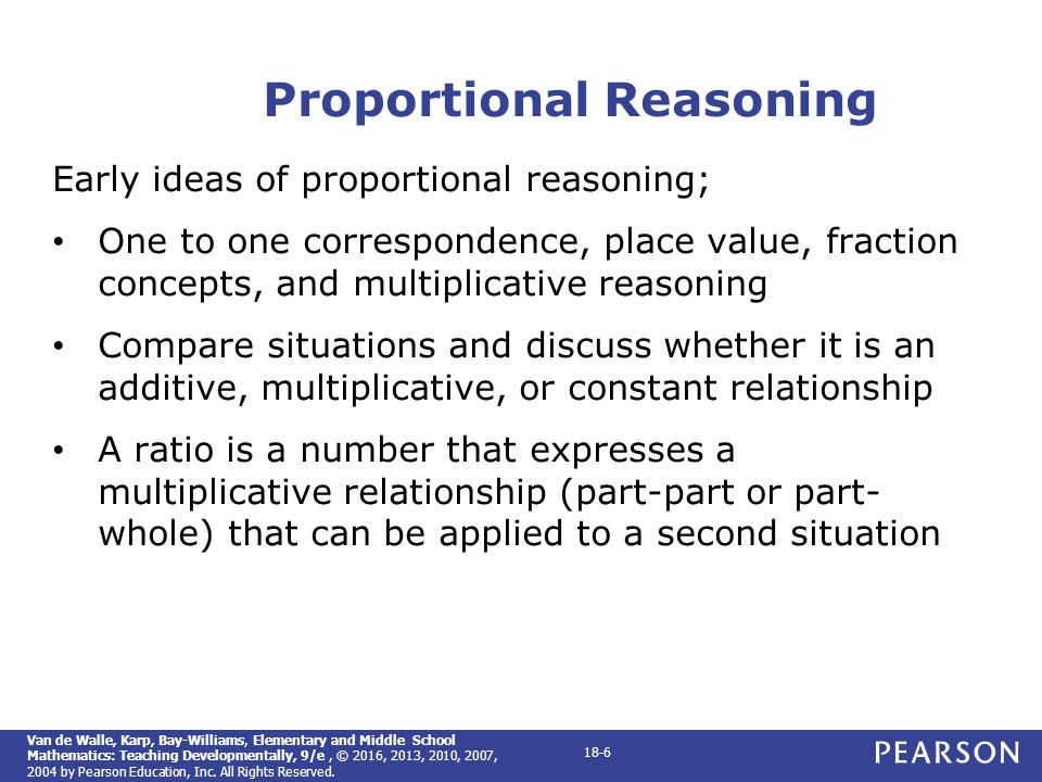 Chapter 18 ratios proportions and proportional reasoning ppt 6 proportional reasoning fandeluxe Image collections