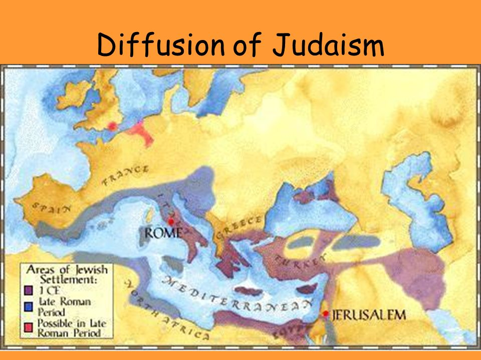 Diffusion of Judaism