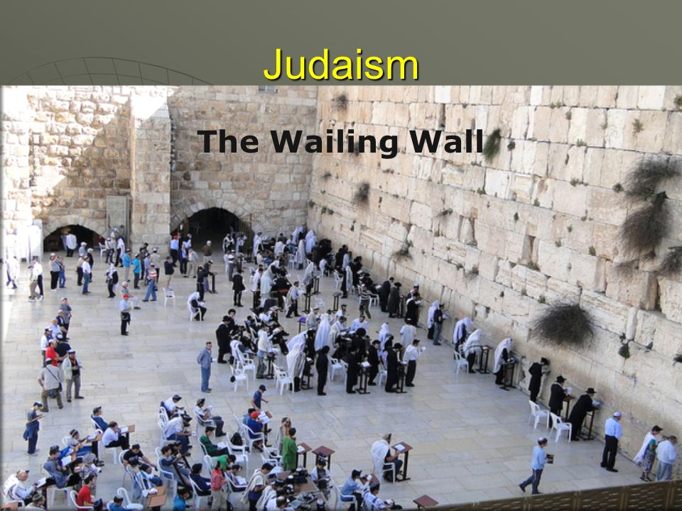 Judaism The Wailing Wall