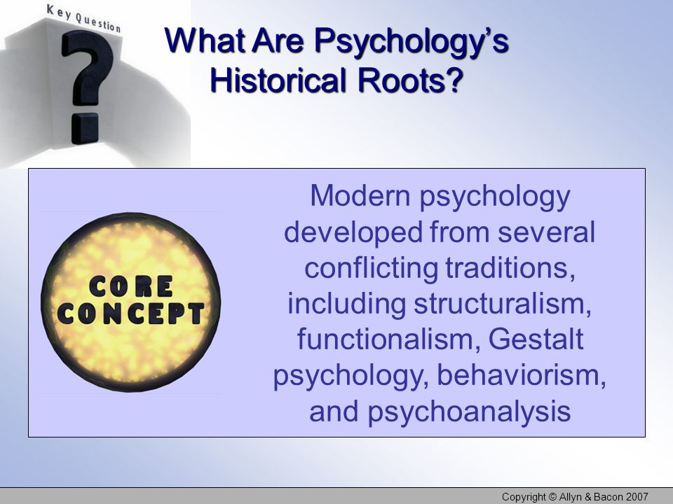 What Are Psychology's Historical Roots