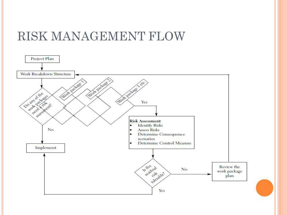 RISK MANAGEMENT FLOW