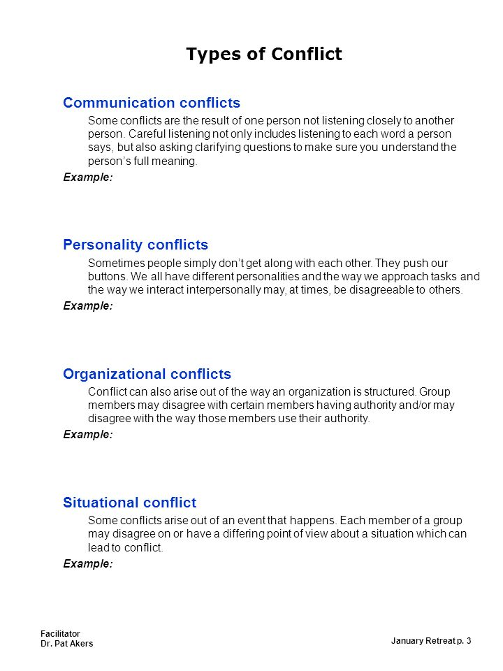"""Managing Conflict """"Conflict can lead to better decision"""