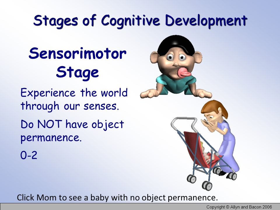 Stages of Cognitive Development