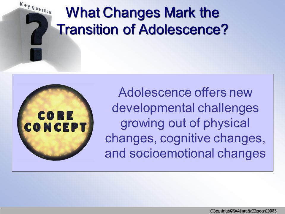 What Changes Mark the Transition of Adolescence