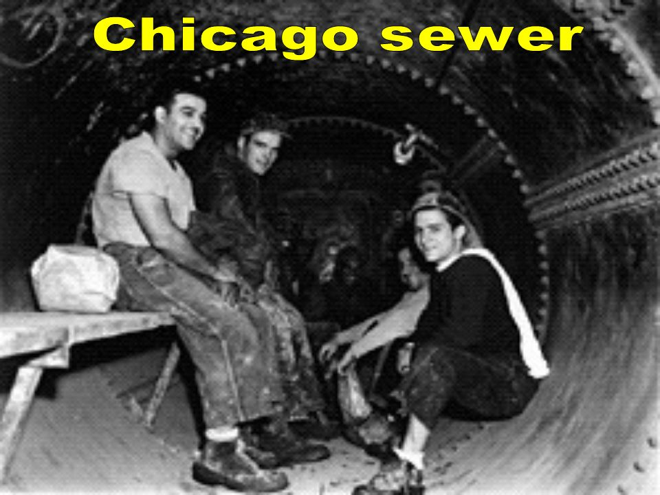 Chicago sewer