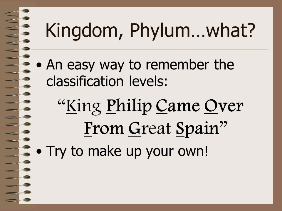 King Philip Came Over From Great Spain