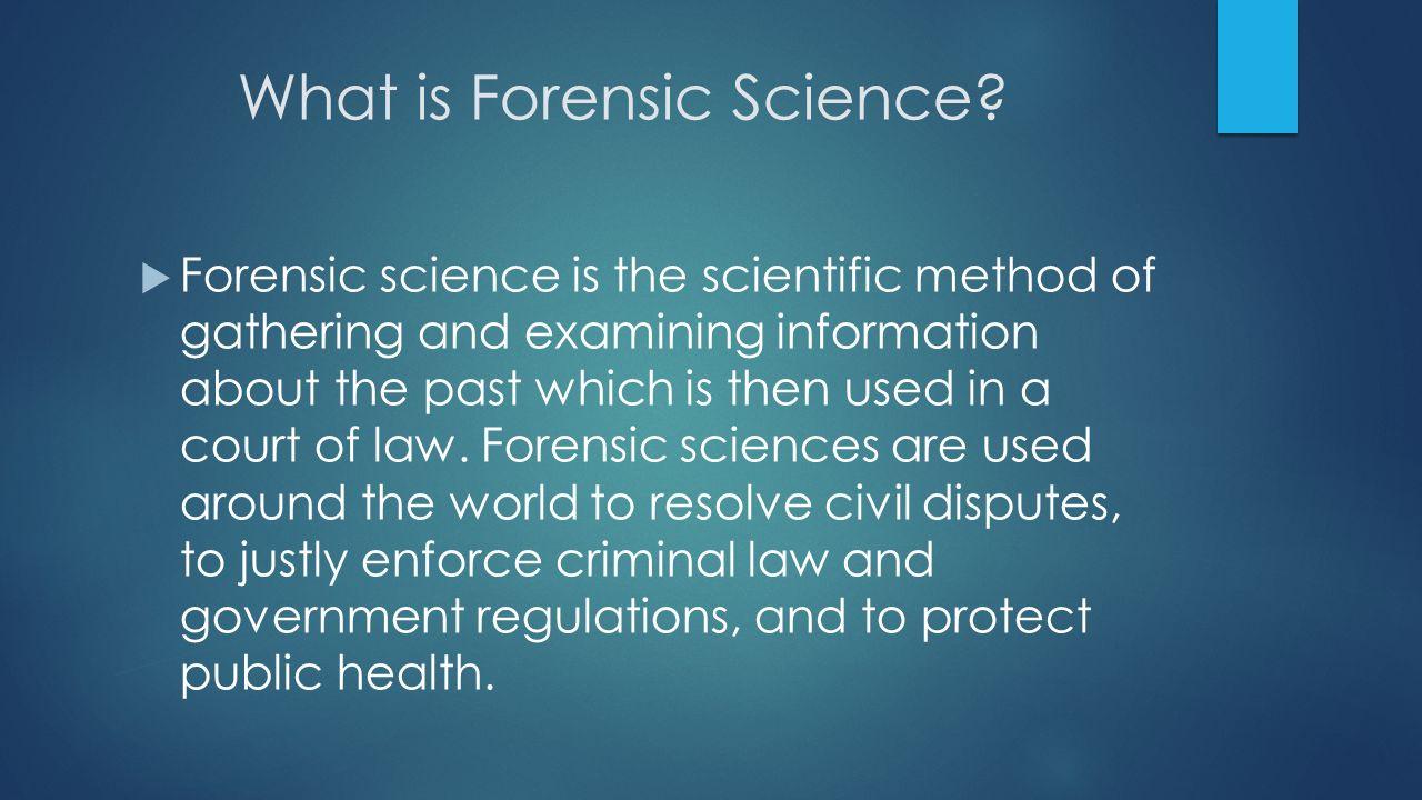 Forensic Scientist Career Project Criminologist Vs Criminalist Ppt Download