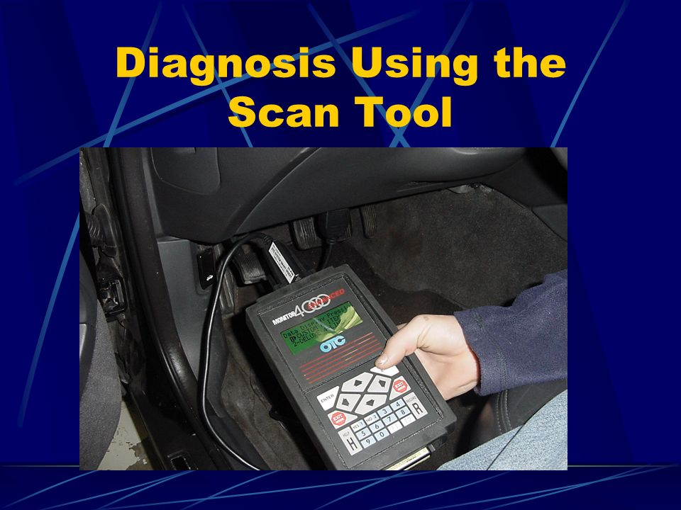 Diagnosis Using the Scan Tool
