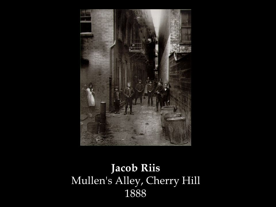 Jacob Riis Mullen s Alley, Cherry Hill 1888