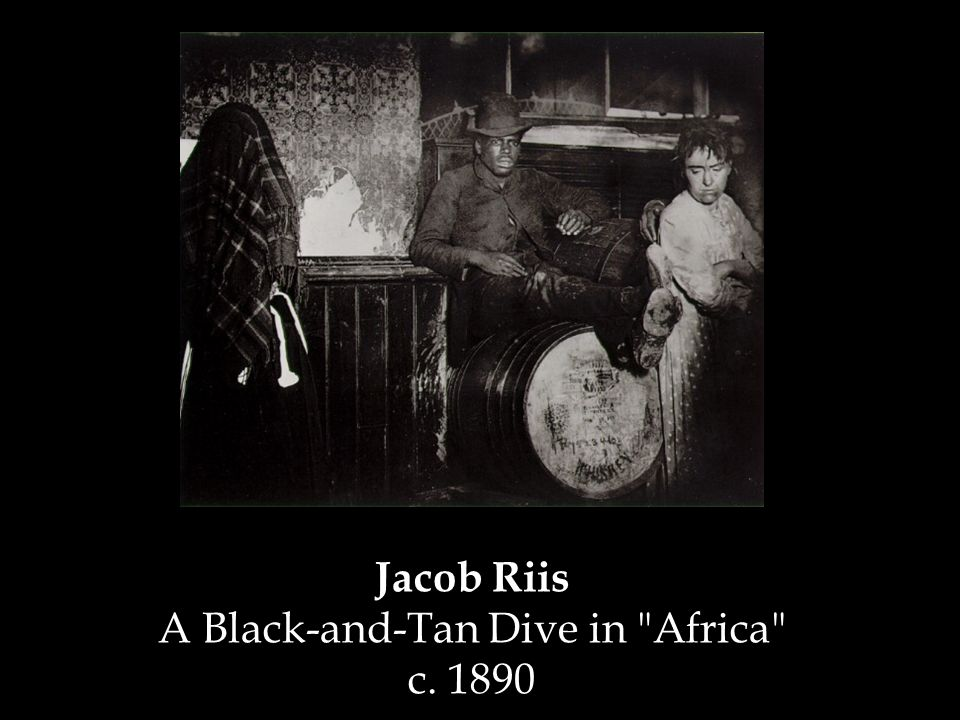 Jacob Riis A Black-and-Tan Dive in Africa c. 1890