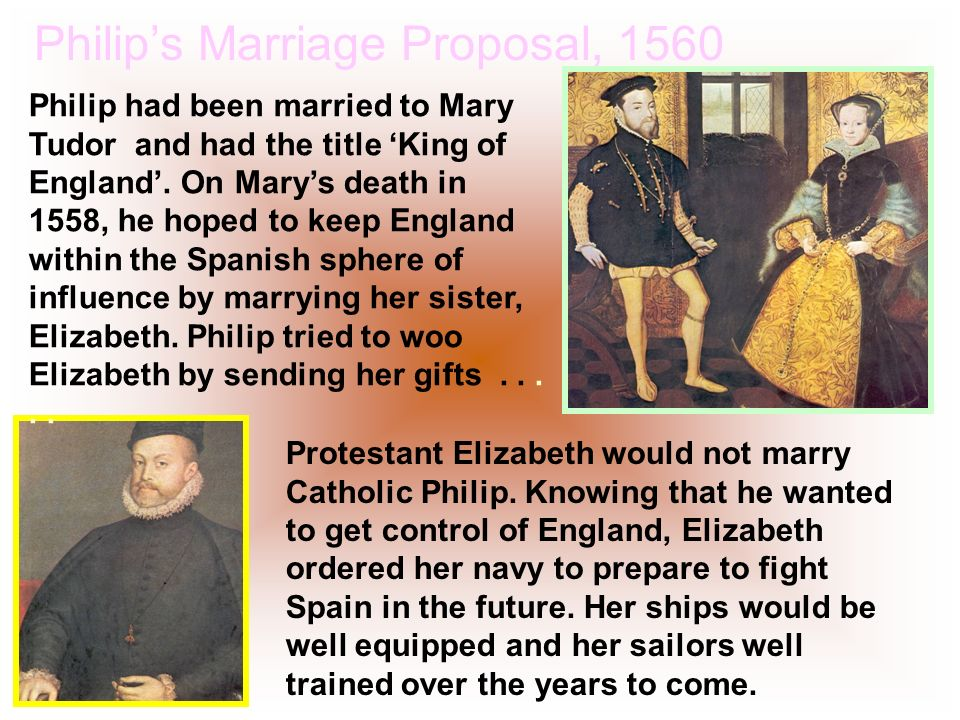 Philip's Marriage Proposal, 1560