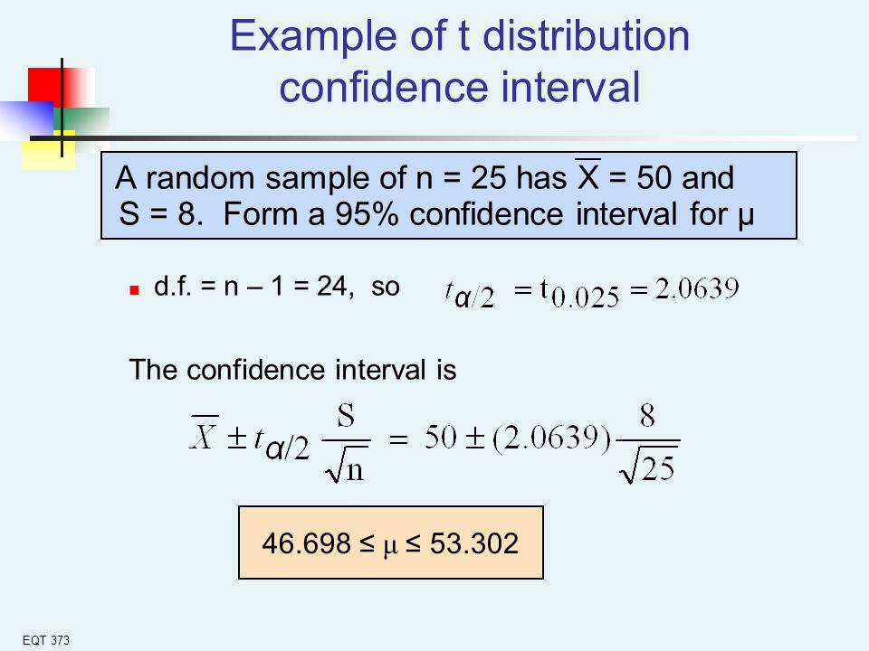 how to find 95 confidence interval