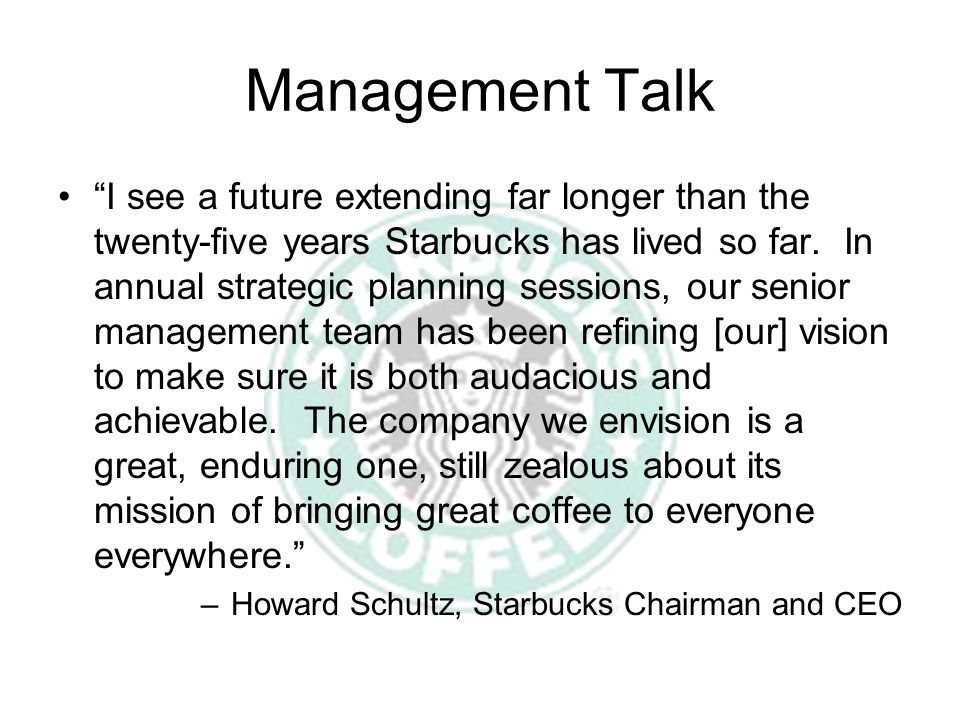 Management Talk