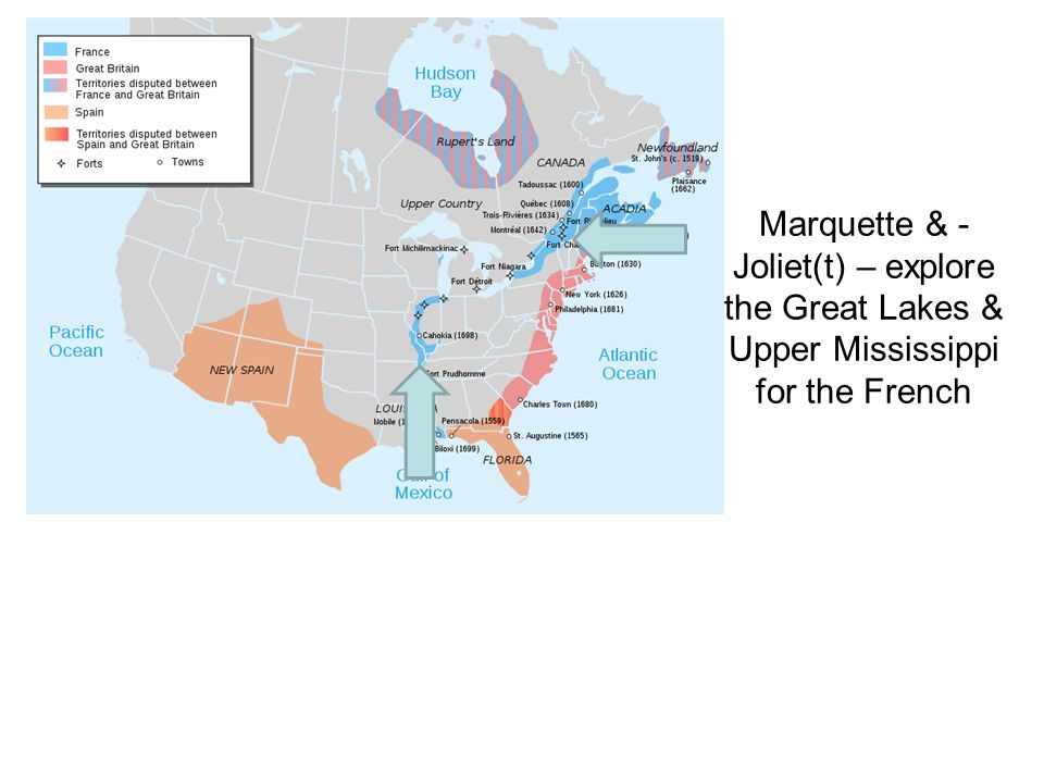 Marquette & - Joliet(t) – explore the Great Lakes & Upper Mississippi for the French