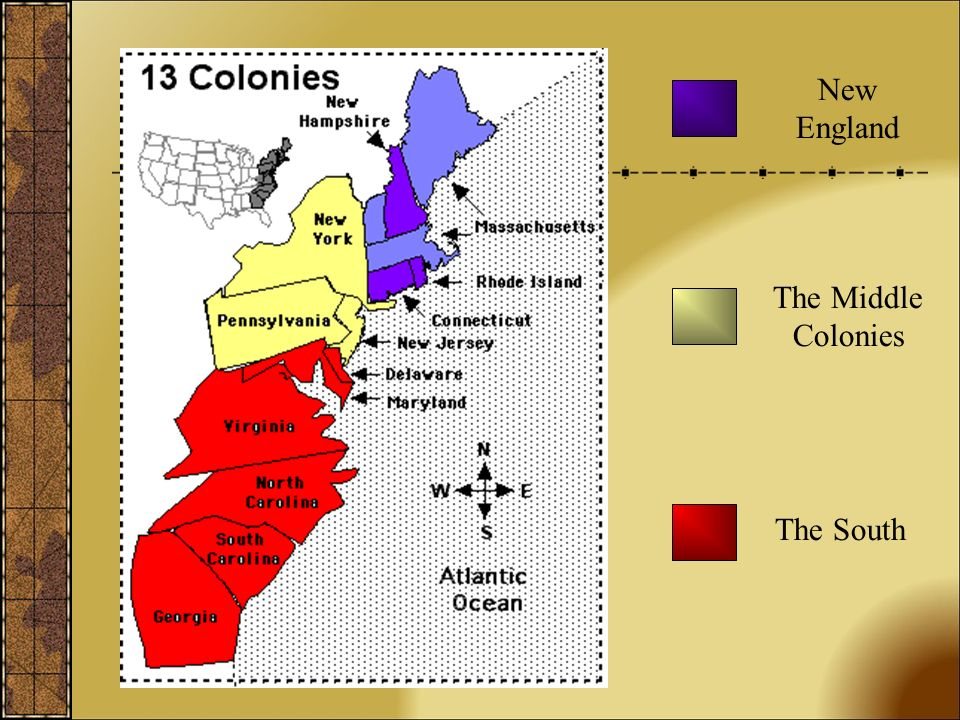differences between new england south and middle colonies Differences and similarities between the new england and chesapeake/southern colonies groupings: economic, social, religious, political, human-environment interaction  these groupings are loosely based off of the spice categories used by ap world history classes to compare and contrast civilizations.