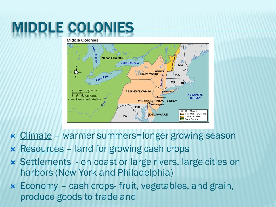 13 Colonies 3 Regions New England Middle Colonies