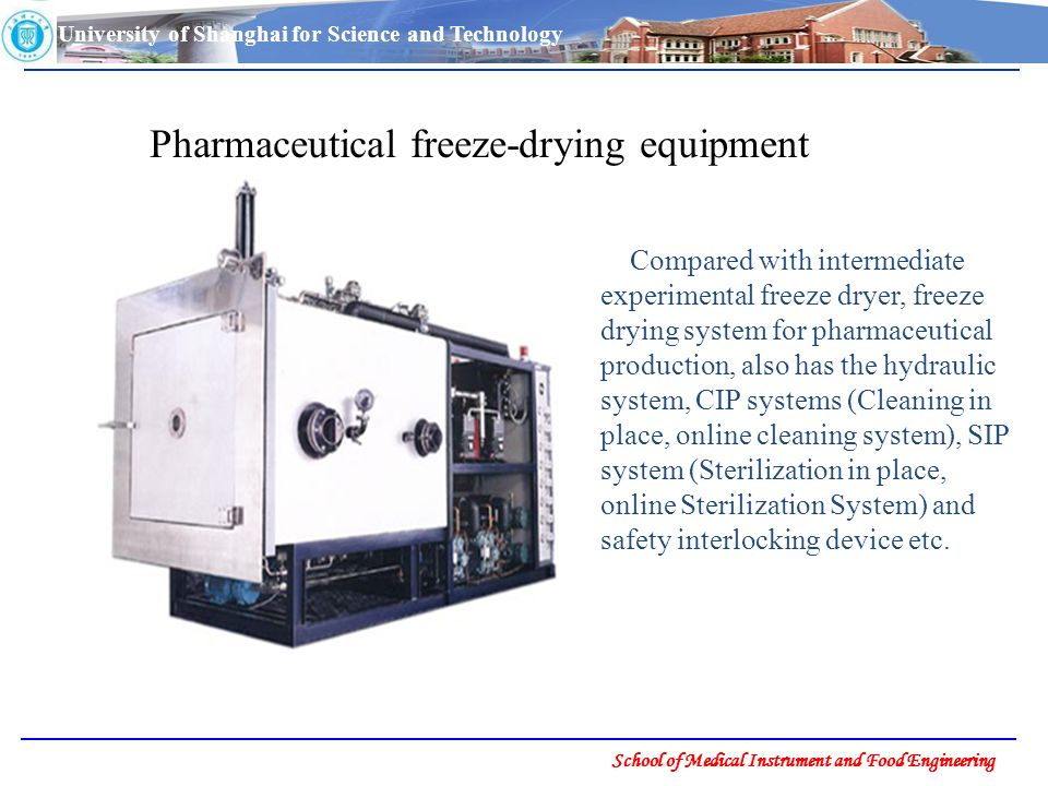 Chapter 3 Equipment of Freeze-drying - ppt download