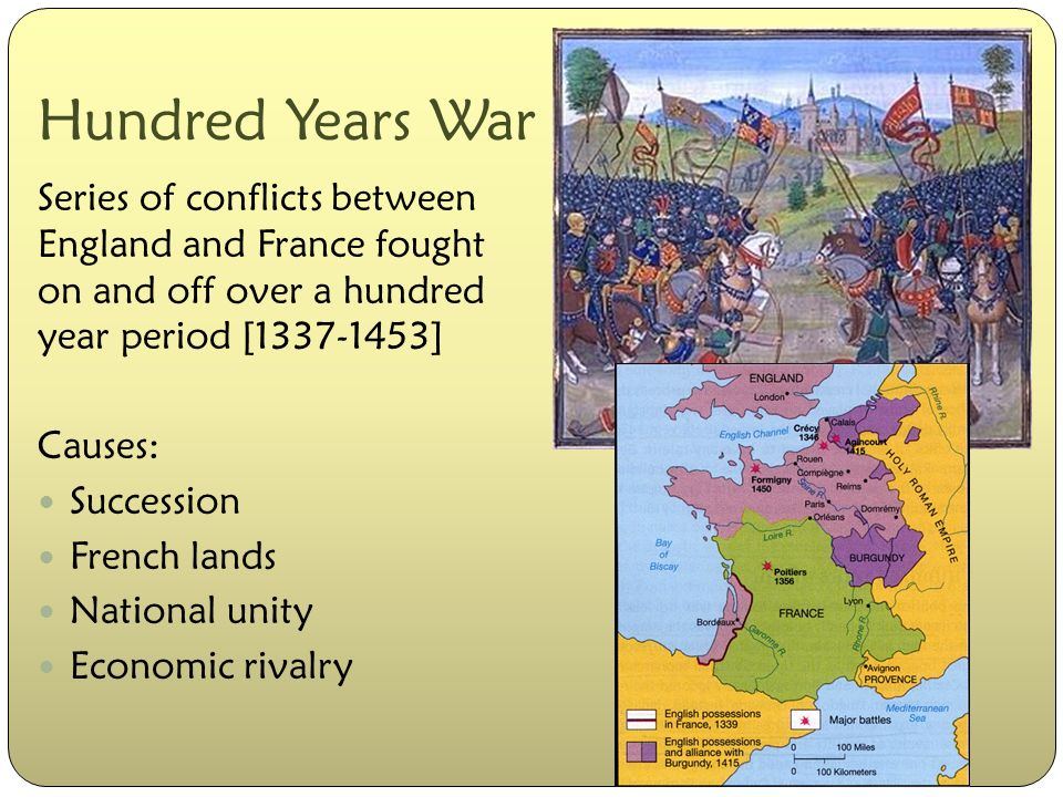 what caused the 100 year war