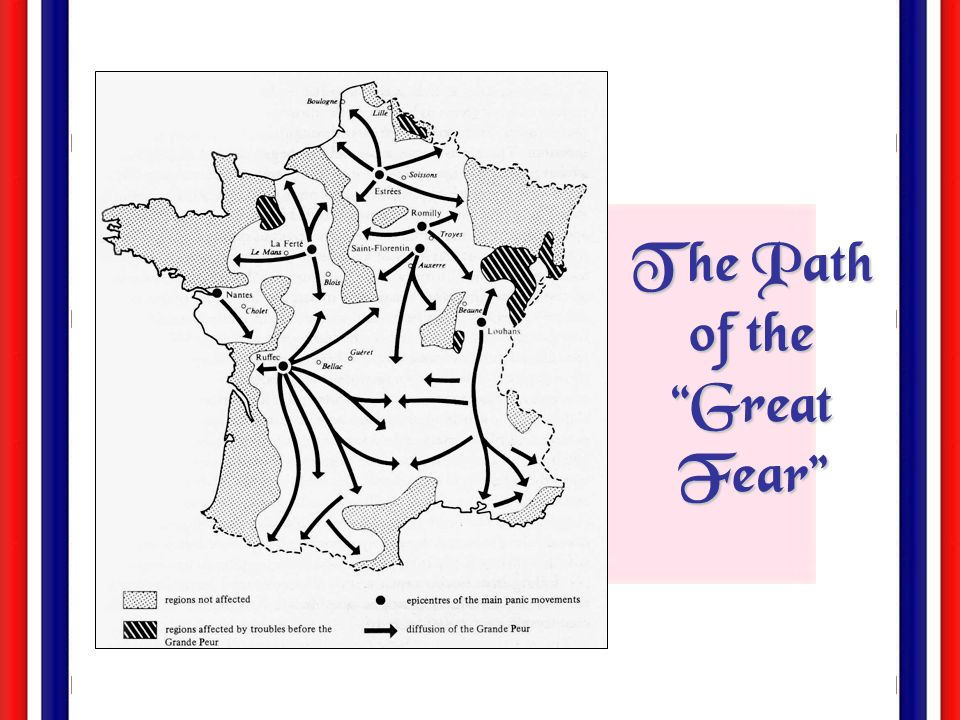 The Path of the Great Fear