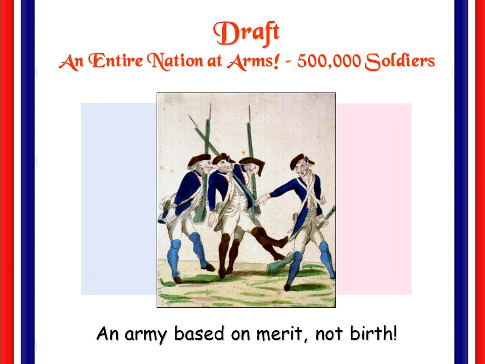 An Entire Nation at Arms! – 500,000 Soldiers