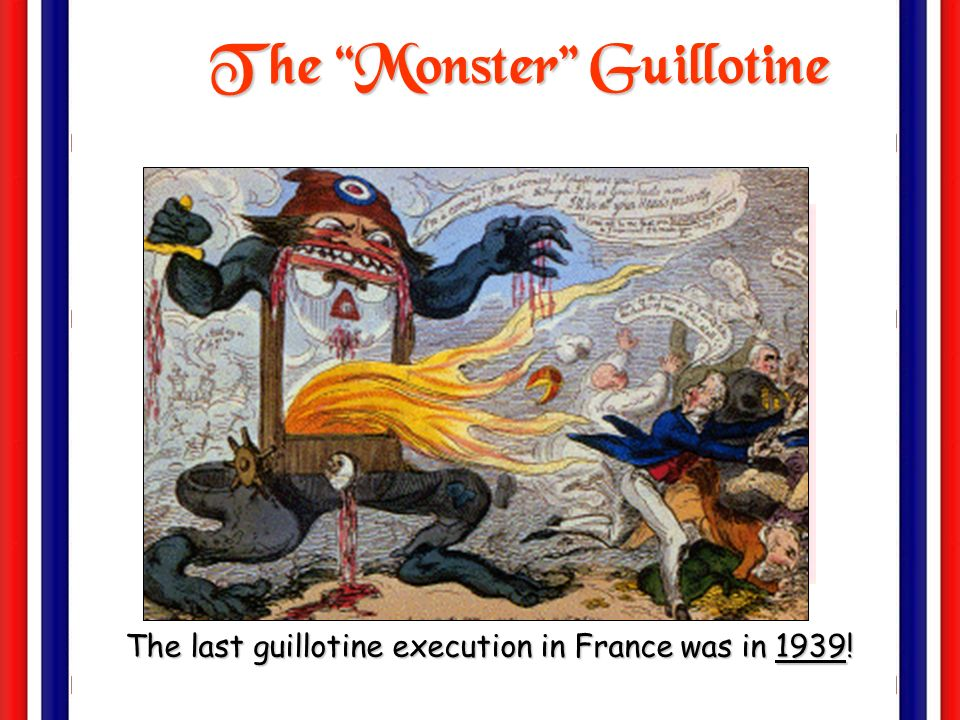 The Monster Guillotine