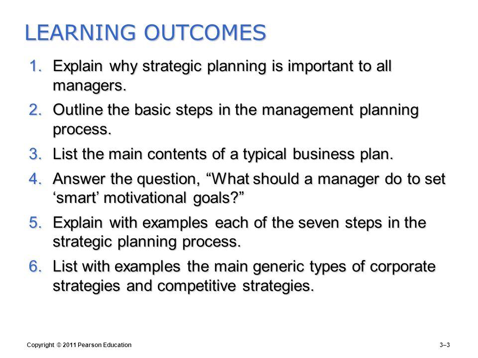 human resources strategic plan outline