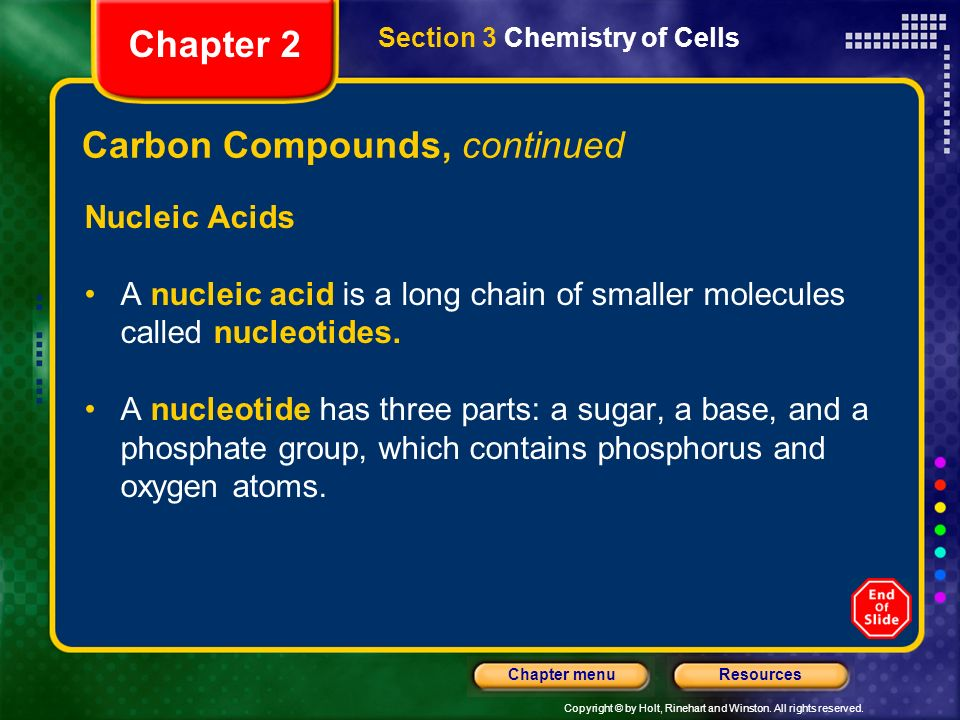 Carbon Compounds, continued