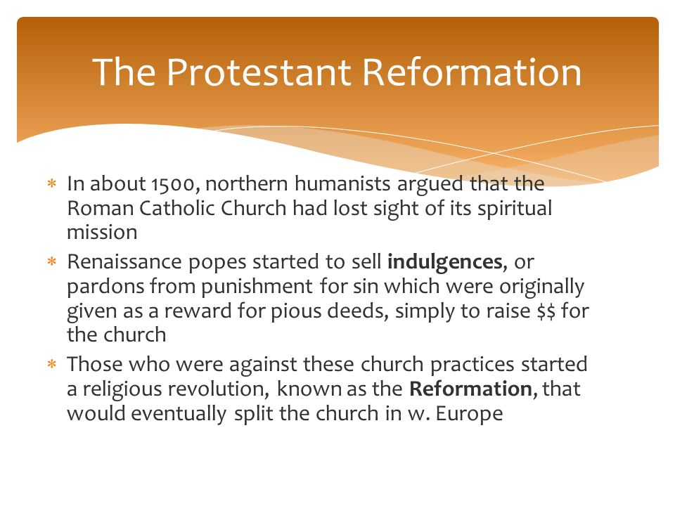 The renaissance ppt download the protestant reformation ccuart Images