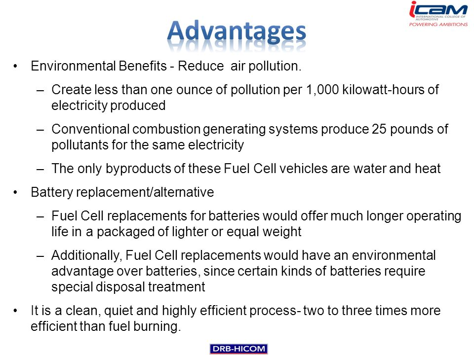 advantages of air pollution