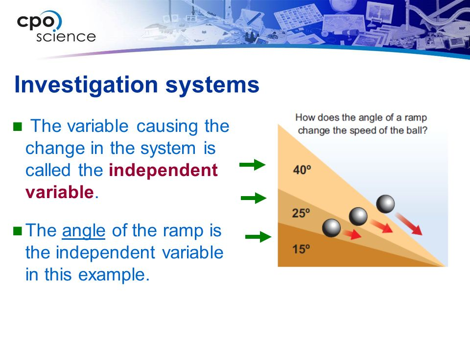 Investigation systems