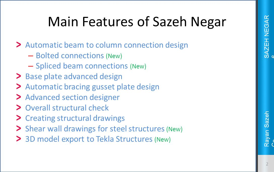 An Introduction to Sazeh Negar ppt video online download