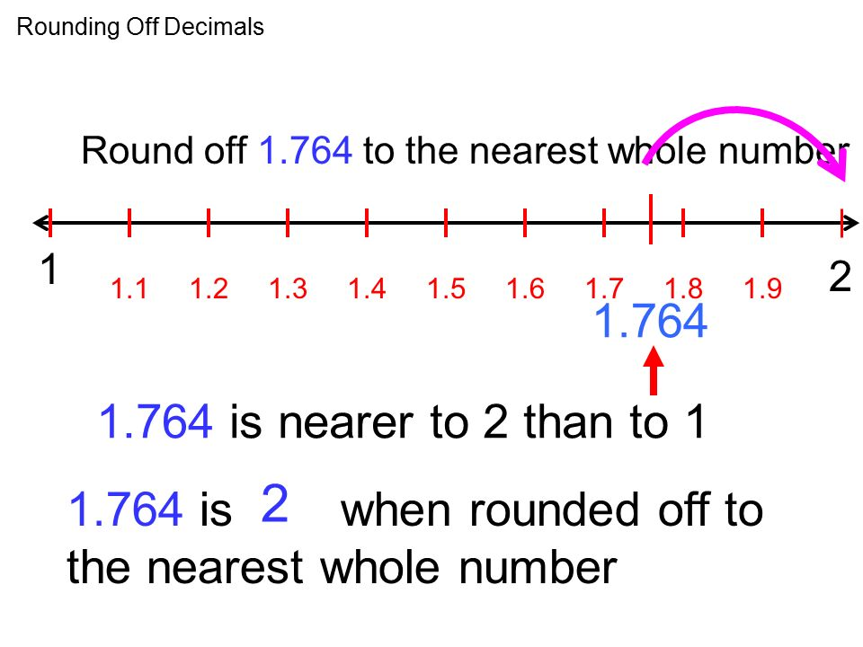 how to stop numbers from rounding in numbers