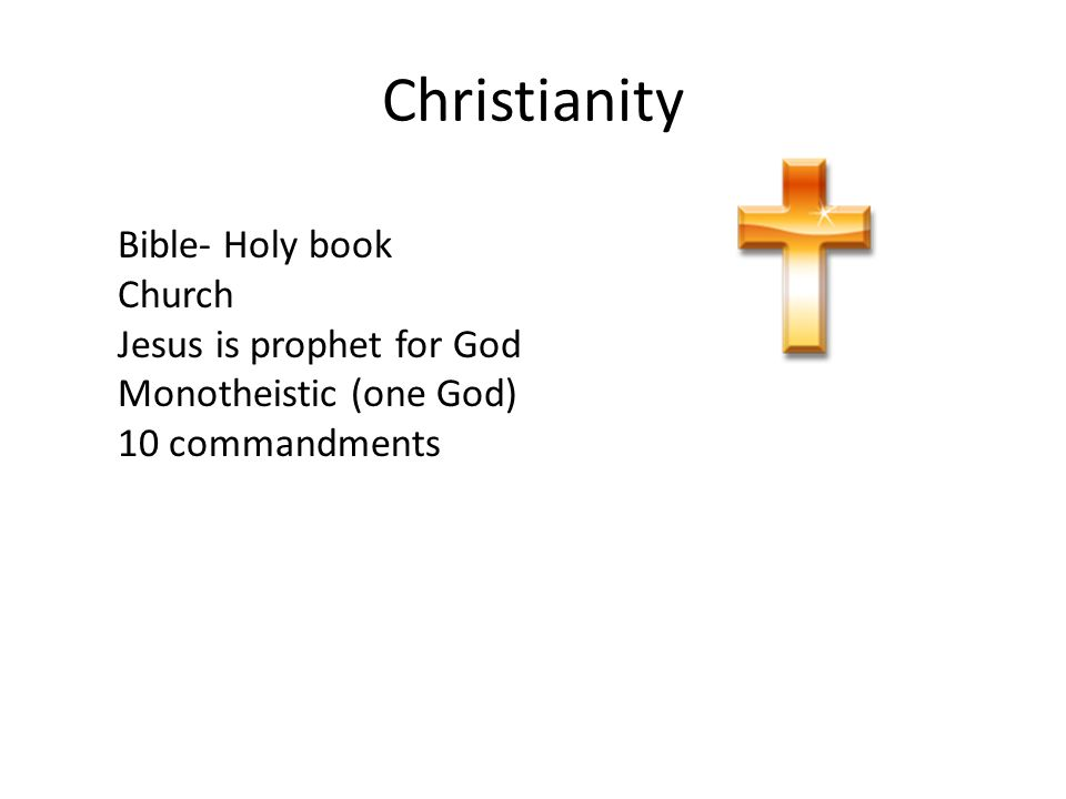 Christianity Bible- Holy book Church Jesus is prophet for God