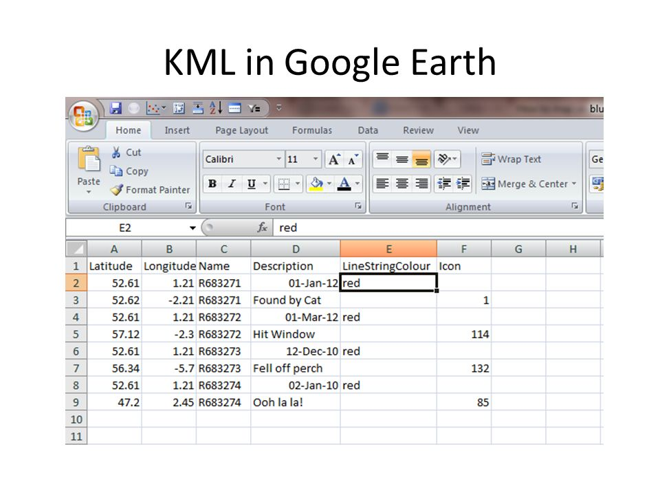 How to map your ringing data - ppt video online download