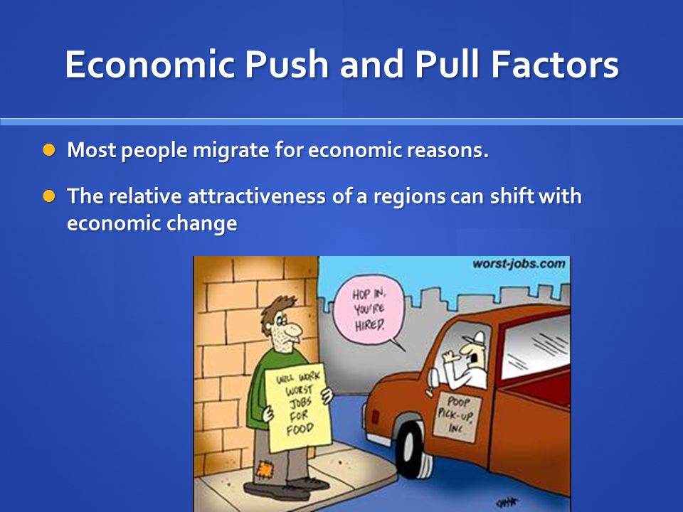 Economic Push and Pull Factors