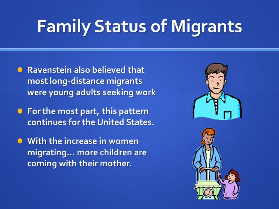 Family Status of Migrants