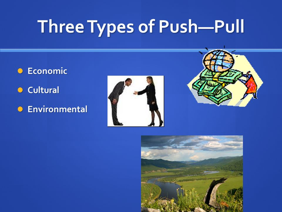 Three Types of Push—Pull
