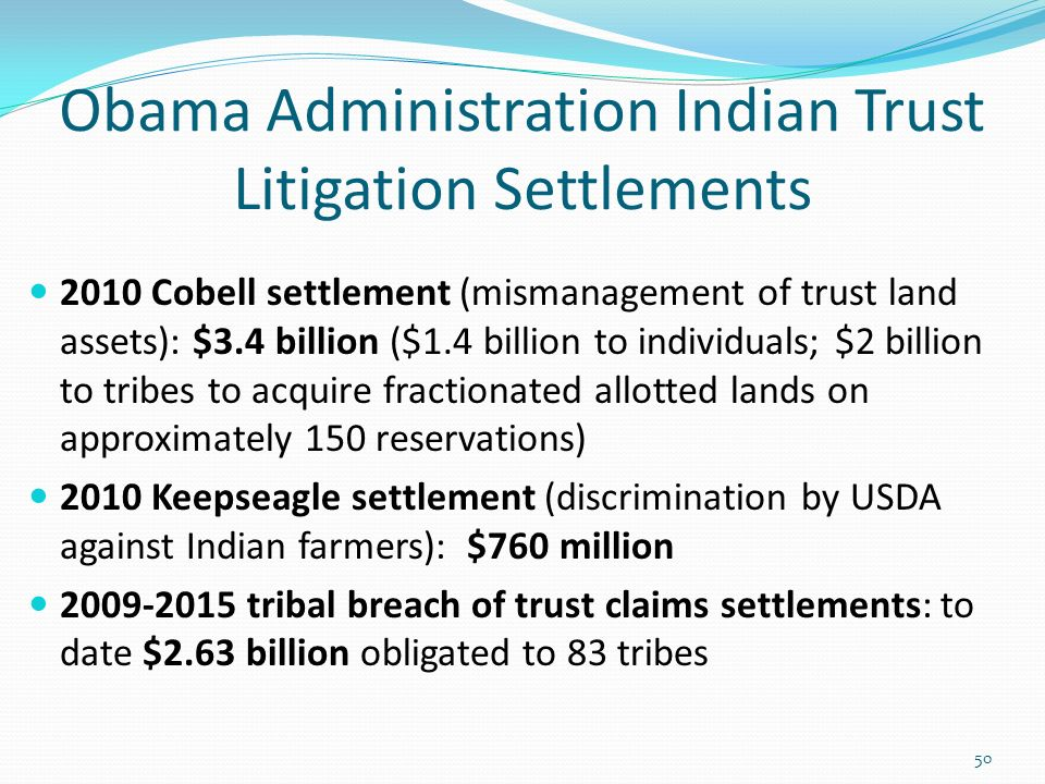 Indian Water Rights Settlements Ppt Download