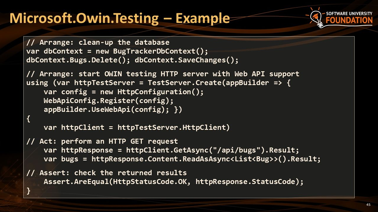 Testing Web Services Unit Testing, Data Layer Testing, Web