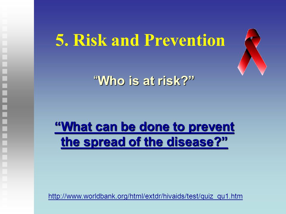What can be done to prevent the spread of the disease
